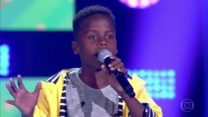 Jeremias Reis vence 'The Voice Kids'